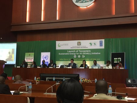 Tanzania : Official Launch of national SEforALL Action Agenda and Investment Prospectus