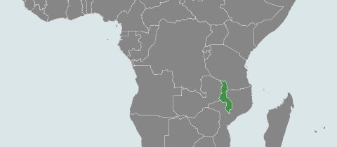 Map of Malawi