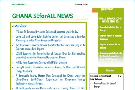 Ghana SEforALL Newsletter: Volume 6, Issue 2